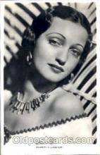 act012077 - Dorothy Lamour Actress / Actor Postcard Post Card Old Vintage Antique