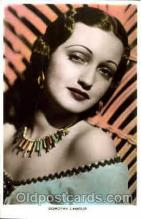 act012082 - Dorothy Lamour Actress / Actor Postcard Post Card Old Vintage Antique