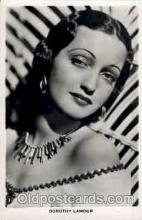 act012095 - Dorothy Lamour Actress / Actor Postcard Post Card Old Vintage Antique
