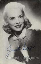 act012100 - Janet Leigh Actress / Actor Postcard Post Card Old Vintage Antique