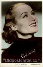 act012104 - Carole Lombard Actress / Actor Postcard Post Card Old Vintage Antique