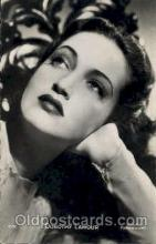 act012106 - Dorothy Lamour Actress / Actor Postcard Post Card Old Vintage Antique