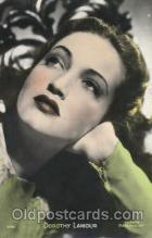 act012132 - Dorothy Lamour Actor, Actress, Movie Star, Postcard Post Card