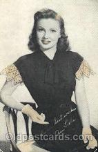 act012137 - Joan Leslie Actor, Actress, Movie Star, Postcard Post Card