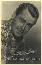 act012144 - Alan Ladd Actor, Actress, Movie Star, Postcard Post Card