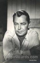 act012145 - Alan Ladd Actor, Actress, Movie Star, Postcard Post Card