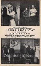 act012158 - Anna Lucasta Movie Actor / Actress, Entertainment Postcard Post Card