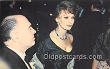 act012160 - Sophia Loren Movie Actor / Actress, Entertainment Postcard Post Card