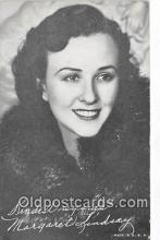 act012197 - Margaret Lindsay Movie Actor / Actress, Entertainment Postcard Post Card