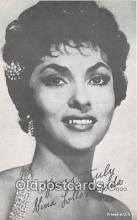 act012198 - Gina Lollobrigida Movie Actor / Actress, Entertainment Postcard Post Card