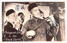 act012204 - Chingwah Lee, Good Earth Movie Star Actor Actress Film Star Postcard, Old Vintage Antique Post Card