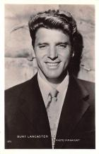 act012206 - Burt Lancaster Movie Star Actor Actress Film Star Postcard, Old Vintage Antique Post Card