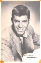 act012207 - Jerry Lewis Movie Star Actor Actress Film Star Postcard, Old Vintage Antique Post Card