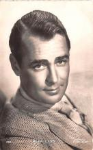 act012208 - Alan Ladd Movie Star Actor Actress Film Star Postcard, Old Vintage Antique Post Card