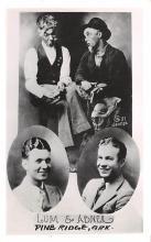 act012210 - Lum & Abner, Pine Ridge, AR, USA Movie Star Actor Actress Film Star Postcard, Old Vintage Antique Post Card
