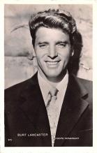 act012211 - Burt Lancaster Movie Star Actor Actress Film Star Postcard, Old Vintage Antique Post Card