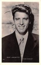 act012212 - Burt Lancaster Movie Star Actor Actress Film Star Postcard, Old Vintage Antique Post Card