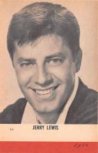 act012213 - Jerry Lewis Movie Star Actor Actress Film Star Postcard, Old Vintage Antique Post Card