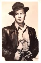 act012215 - Alan Ladd Movie Star Actor Actress Film Star Postcard, Old Vintage Antique Post Card