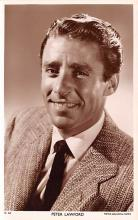 act012218 - Peter Lawford Movie Star Actor Actress Film Star Postcard, Old Vintage Antique Post Card