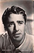 act012220 - Peter Lawford Movie Star Actor Actress Film Star Postcard, Old Vintage Antique Post Card