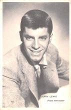 act012223 - Jerry Lewis Movie Star Actor Actress Film Star Postcard, Old Vintage Antique Post Card