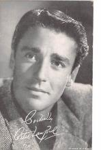 act012235 - Peter Lawford Movie Star Actor Actress Film Star Postcard, Old Vintage Antique Post Card