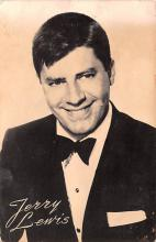 act012239 - Jerry Lewis Movie Star Actor Actress Film Star Postcard, Old Vintage Antique Post Card