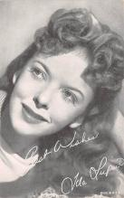 act012261 - Ida Lupino Movie Star Actor Actress Film Star Postcard, Old Vintage Antique Post Card
