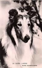 act012273 - Lassie, Le Chien  Movie Star Actor Actress Film Star Postcard, Old Vintage Antique Post Card