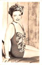 act012274 - Joan Leslie Movie Star Actor Actress Film Star Postcard, Old Vintage Antique Post Card