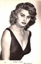 act012275 - Sophia Loren Movie Star Actor Actress Film Star Postcard, Old Vintage Antique Post Card