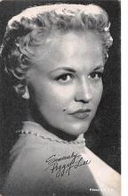 act012287 - Peggy Lee Movie Star Actor Actress Film Star Postcard, Old Vintage Antique Post Card