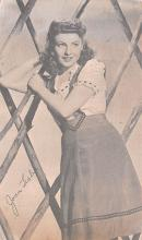 act012294 - Joan Leslie Movie Star Actor Actress Film Star Postcard, Old Vintage Antique Post Card