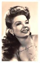 act012299 - Frances Langford Movie Star Actor Actress Film Star Postcard, Old Vintage Antique Post Card