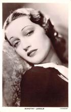 act012302 - Dorothy Lamour Movie Star Actor Actress Film Star Postcard, Old Vintage Antique Post Card