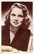 act012312 - Janet Leigh Movie Star Actor Actress Film Star Postcard, Old Vintage Antique Post Card