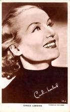 act012314 - Carole Lombard Movie Star Actor Actress Film Star Postcard, Old Vintage Antique Post Card