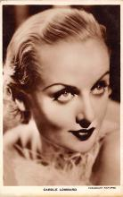act012318 - Carole Lombard Movie Star Actor Actress Film Star Postcard, Old Vintage Antique Post Card
