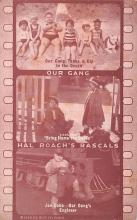 act012326 - Our Gang, Hal Roach's Rascals Movie Star Actor Actress Film Star Postcard, Old Vintage Antique Post Card