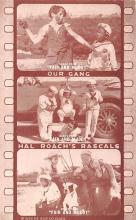 act012327 - Our Gang, Hal Roach's Rascals Movie Star Actor Actress Film Star Postcard, Old Vintage Antique Post Card