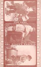 act012330 - Our Gang, Hal Roach's Rascals Movie Star Actor Actress Film Star Postcard, Old Vintage Antique Post Card