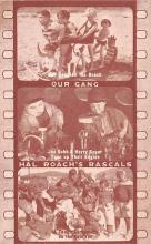 act012331 - Our Gang, Hal Roach's Rascals Movie Star Actor Actress Film Star Postcard, Old Vintage Antique Post Card