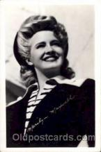 act013006 - Marilyn Maxwell Actress / Actor Postcard Post Card Old Vintage Antique