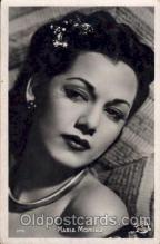 act013018 - Maria Montez Actress / Actor Postcard Post Card Old Vintage Antique