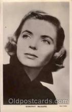 act013032 - Dorothy McGuire  Actress / Actor Postcard Post Card Old Vintage Antique