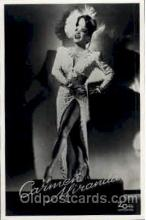 act013045 - Carmen Miranda Actress / Actor Postcard Post Card Old Vintage Antique