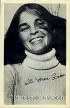 act013053 - Ali Mac Graw Actress / Actor Postcard Post Card Old Vintage Antique