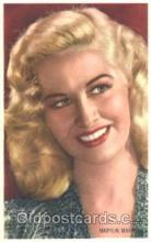 act013078 - Marilyn Maxwell Trade Card Actor, Actress, Movie Star, Postcard Post Card