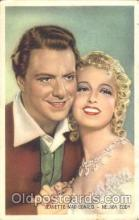 act013083 - Jeanette MacDonald and Nelson Eddy Trade Card Actor, Actress, Movie Star, Postcard Post Card